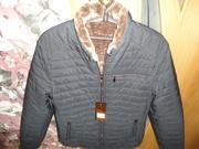 Курточка мужская зимняя новая размер 52