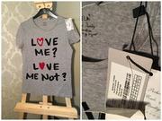 Продам новую серую женскую футболку Москва