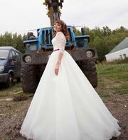 Классное свадебное платье!5000т.р.