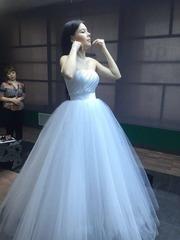 Свадебное платье 44 размер пышное