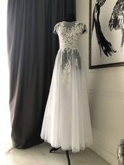 Свадебное платье размер S(42-44)